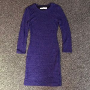 Madewell sweater body con dress